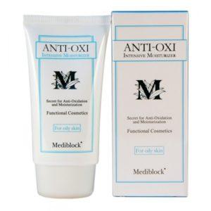 MEDIBLOCK+ Интенсивно увлажняющий крем для жирной кожи 70мл Anti–Oxi Intensive Moisturizer (Oil Skin)