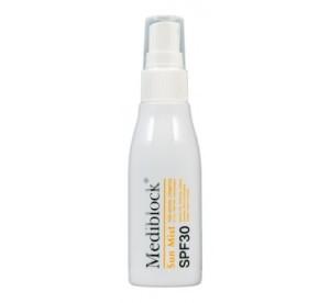 MEDIBLOCK+ Раствор солнцезащитный для лица и волос SPF 30 60мл